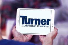 Logotipo de la compañía de Turner Construction imágenes de archivo libres de regalías