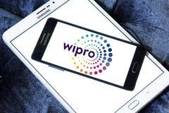 Logotipo de la compañía de Wipro foto de archivo libre de regalías