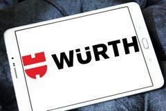 Logotipo de la compañía de Wurth Fotos de archivo