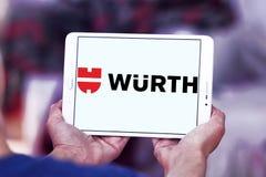 Logotipo de la compañía de Wurth Fotos de archivo libres de regalías
