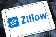 Logotipo de la compañía de Zillow Imágenes de archivo libres de regalías