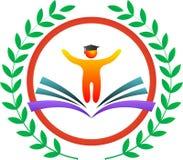 Logotipo de la educación Fotos de archivo