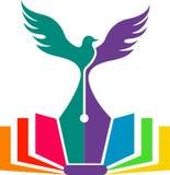 Logotipo de la educación de la libertad Fotografía de archivo libre de regalías