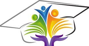 Logotipo de la educación Imagen de archivo libre de regalías