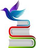 Logotipo de la educación de la libertad Fotos de archivo