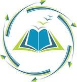 Logotipo de la educación del objetivo Imagen de archivo