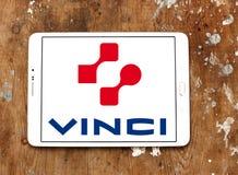 Logotipo de la empresa de la construcción de Vinci Imagenes de archivo