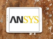 Logotipo de la empresa de informática de Ansys imagenes de archivo