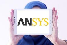 Logotipo de la empresa de informática de Ansys imagen de archivo libre de regalías