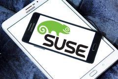 Logotipo de la empresa de informática de SUSE foto de archivo