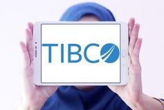 Logotipo de la empresa de informática de TIBCO Imágenes de archivo libres de regalías