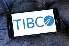 Logotipo de la empresa de informática de TIBCO Imagen de archivo