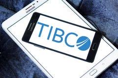 Logotipo de la empresa de informática de TIBCO Foto de archivo