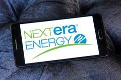 Logotipo de la energía de Nextera Imagen de archivo