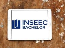 Logotipo de la Escuela de Negocios de INSEEC Imagen de archivo libre de regalías