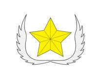 Logotipo de la estrella Imagen de archivo
