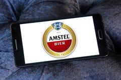 Logotipo de la féretro de Amstel Fotos de archivo libres de regalías
