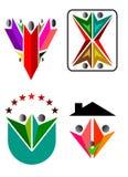 Logotipo de la familia Fotos de archivo libres de regalías