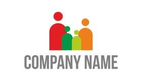 Logotipo de la familia Foto de archivo