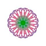 Logotipo de la flor Fotos de archivo
