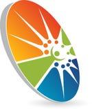 Logotipo de la gente Fotos de archivo libres de regalías