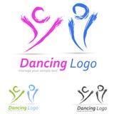 Logotipo de la gente stock de ilustración