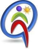 Logotipo de la gente Fotografía de archivo