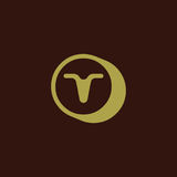 Logotipo de la letra de T libre illustration