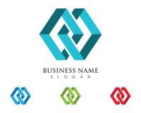 Logotipo de la letra de M Imágenes de archivo libres de regalías