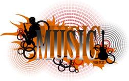 Logotipo de la música fotos de archivo libres de regalías