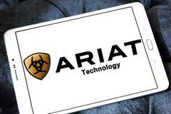 Logotipo de la marca de Ariat Fotografía de archivo libre de regalías
