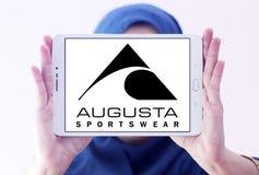 Logotipo de la marca de Augusta Sportswear imagenes de archivo
