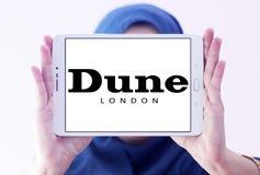 Logotipo de la marca de Londres de la duna Fotos de archivo libres de regalías