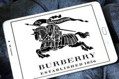 Logotipo de la marca de la moda de Burberry Imagen de archivo