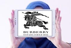 Logotipo de la marca de la moda de Burberry Fotografía de archivo