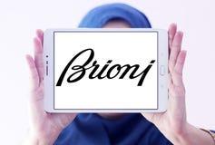 Logotipo de la marca de la ropa de Brioni Foto de archivo