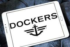 Logotipo de la marca de la ropa de los estibadores Fotos de archivo