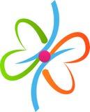 Logotipo de la mariposa Imagen de archivo libre de regalías