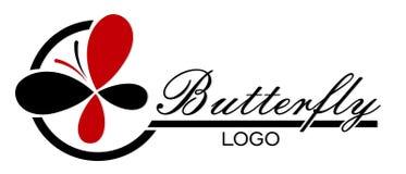 Logotipo de la mariposa libre illustration