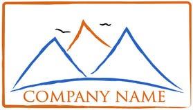 Logotipo de la montaña Imagen de archivo libre de regalías