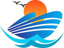 Logotipo de la nave libre illustration