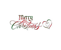 Logotipo de la Navidad ilustración del vector