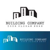 Logotipo de la oficina del edificio Fotografía de archivo