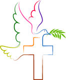 Logotipo de la paloma libre illustration