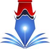 logotipo de la pluma Foto de archivo libre de regalías