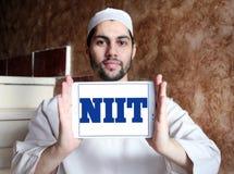 Logotipo de la sociedad de responsabilidad limitada de NIIT Fotografía de archivo