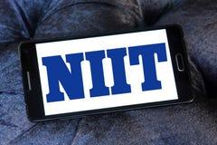 Logotipo de la sociedad de responsabilidad limitada de NIIT Fotos de archivo