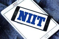 Logotipo de la sociedad de responsabilidad limitada de NIIT Imágenes de archivo libres de regalías