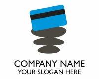 Logotipo de la tarjeta de crédito Imagenes de archivo