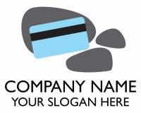 Logotipo de la tarjeta de crédito Imágenes de archivo libres de regalías